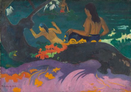 Gauguin, Paul: Fatata te Miti (By the Sea). Fine Art Print/Poster. Sizes: A4/A3/A2/A1 (004093)
